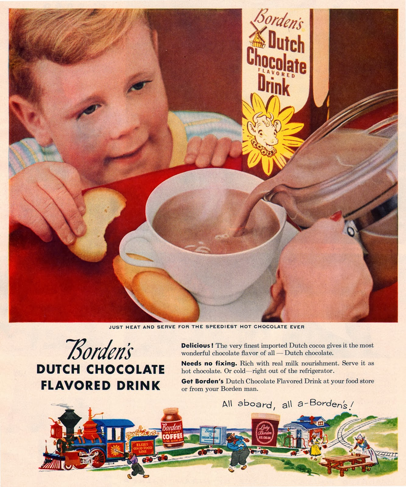 14 Interesting Vintage Food Ads From the 1950s ~ vintage