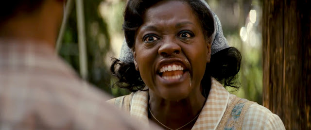 "Viola Davis, hopefully not reacting to her upcoming Oscar win for ""Fences"""
