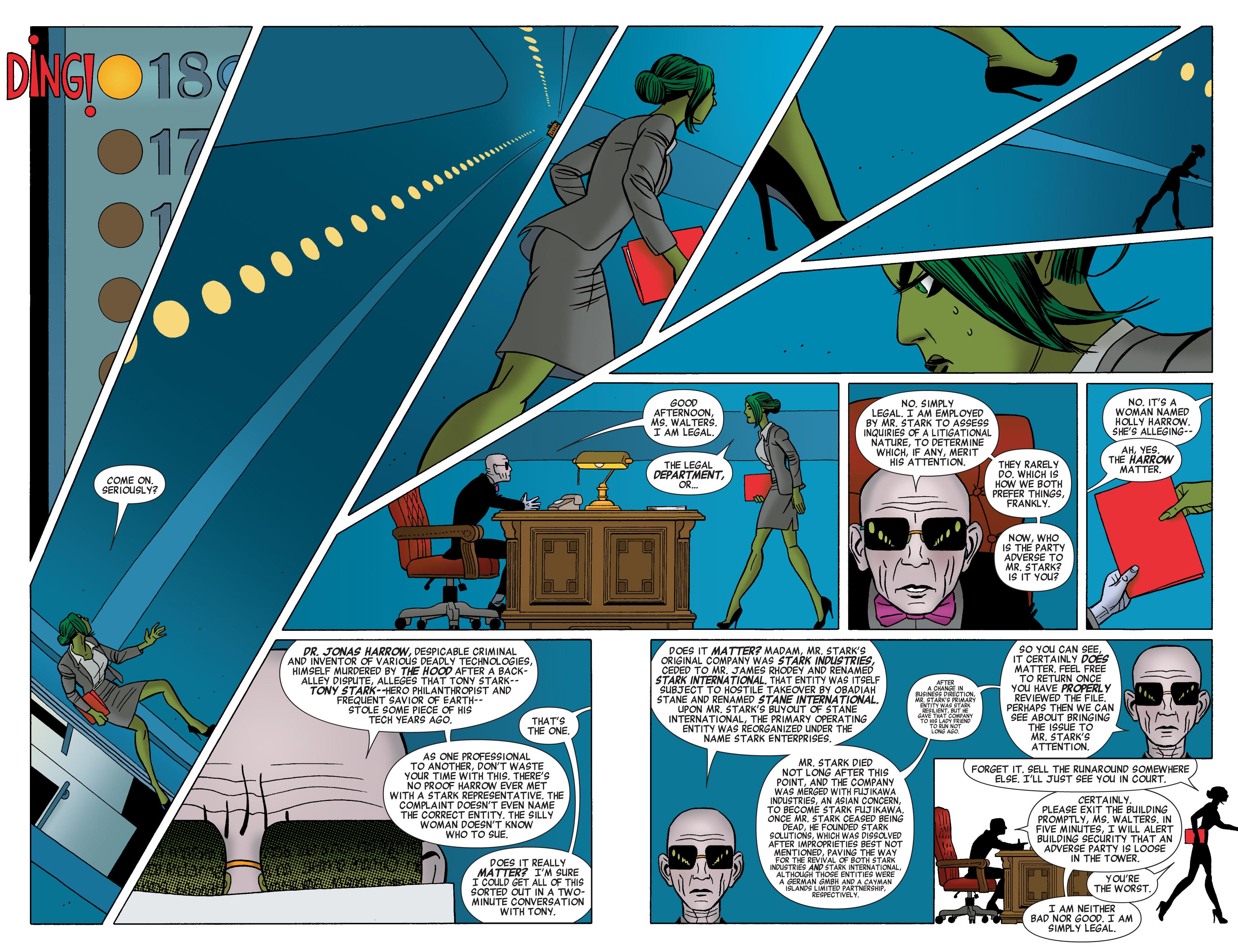 Read online She-Hulk (2014) comic -  Issue #1 - 12