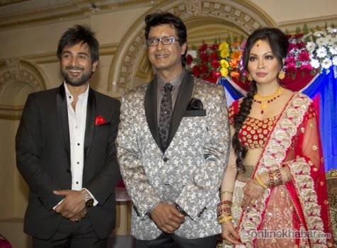 rajesh hamal and madhu bhattarai wedding, jeewan luitel