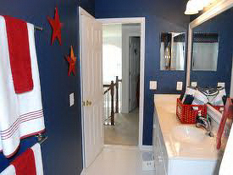 Nautical Bathroom Décor For Contemporary Bathroom Interior