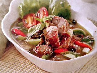 Gambar Resep Ikan Tongkol Kuah Kemangi