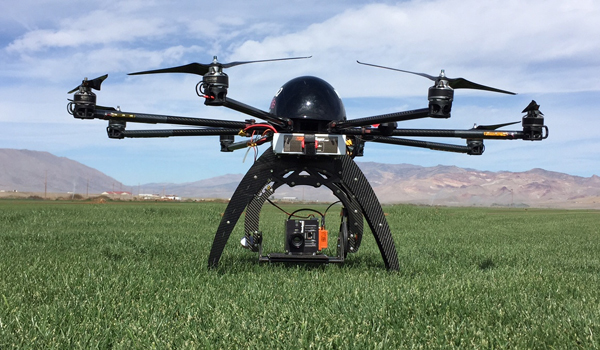 Hyperspectral Imaging Drones