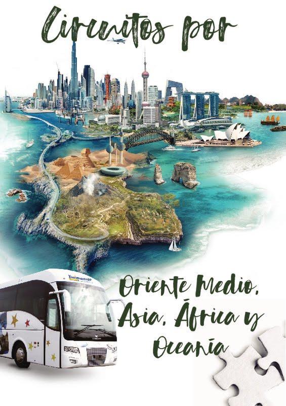 Catálogo Europamundo Circuitos Europa, África, Asia, América 2018-19