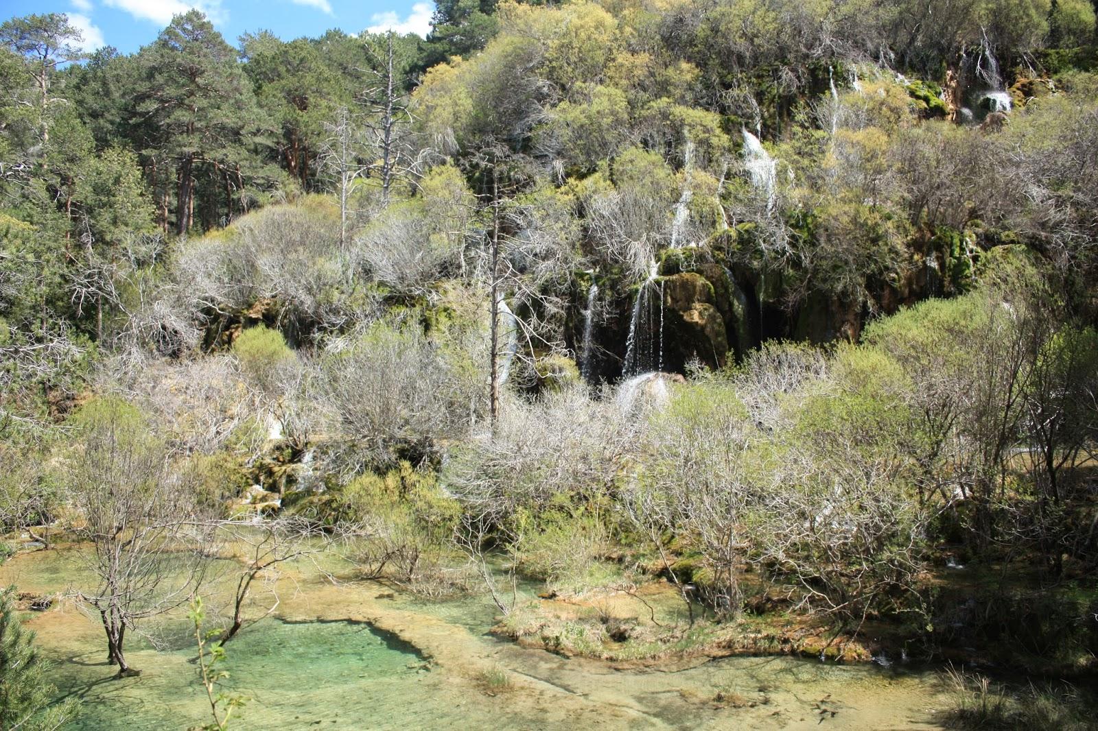 Nacimiento del Rio cuervo en cuenca que podemos ver