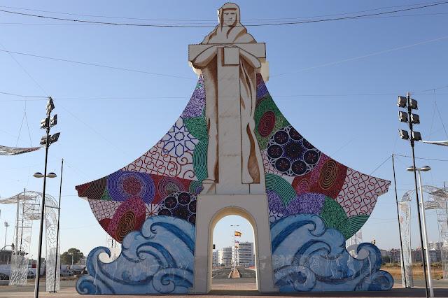Portada de la feria de Huelva