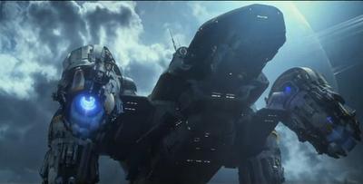 Prometheus Dunkle Zeichen Raumschiff