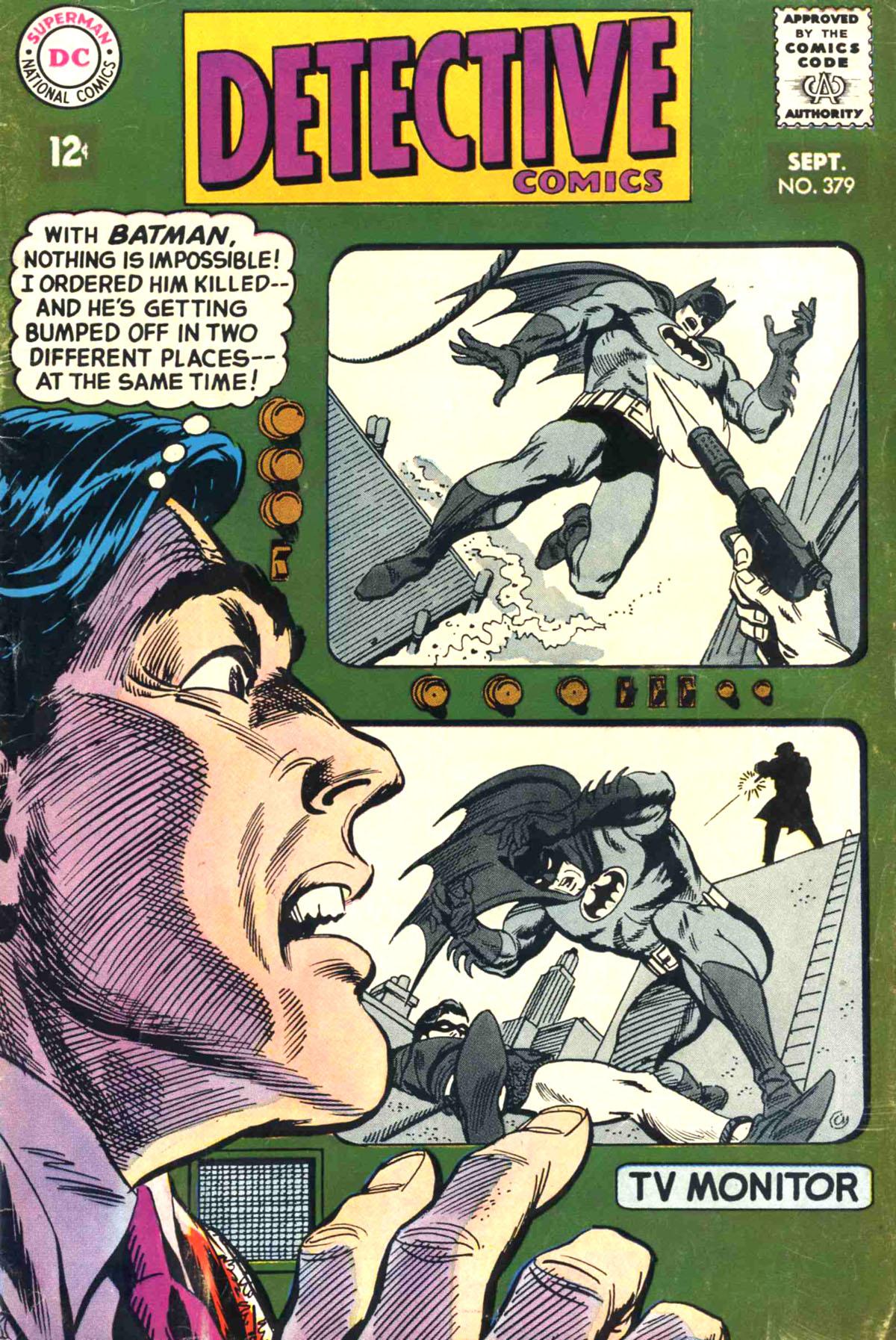 Detective Comics (1937) 379 Page 1