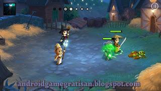 Dari segi grafis sih game ini mengalami peningkatan Game:  Battleheart 2 apk  + obb
