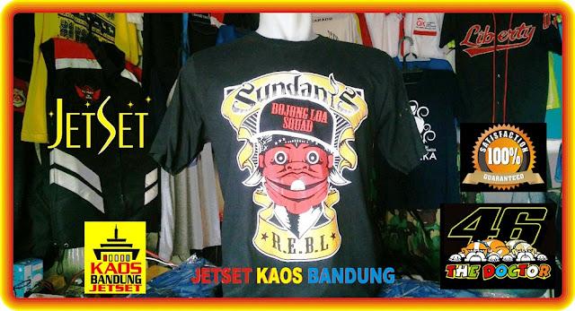 PUSAT SABLON KAOS MURAH Jasa Pembuatan Baju Kaos Bandung