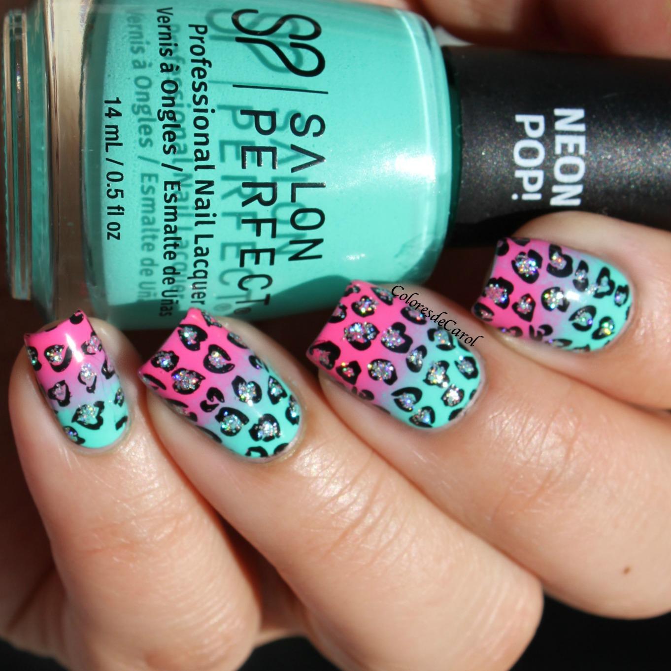 Colores de Carol: Salon Perfect Neon Pop!