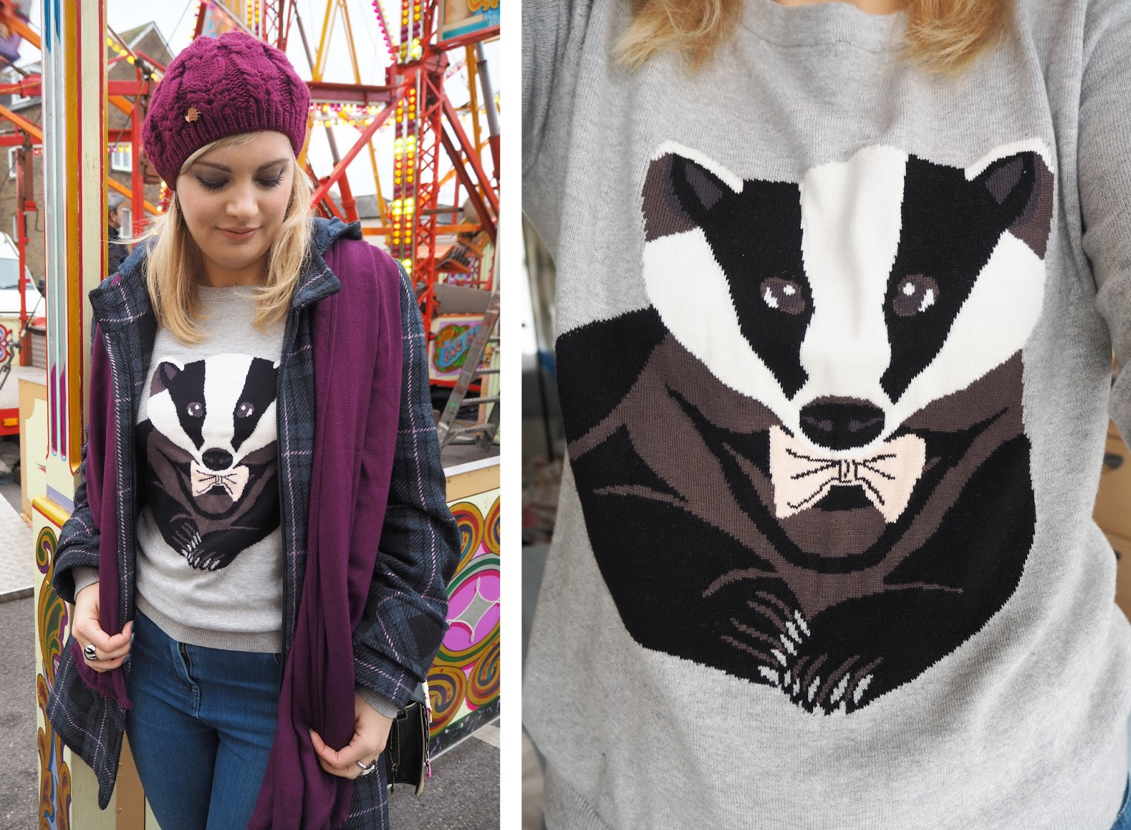 Outfit: Badger Watch | Katie Kirk Loves