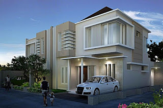 pictures of luxury 2-storey minimalist house design - Lampung interior house