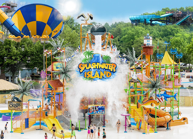 waterworld concord splashwater island new 2018