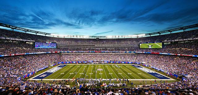 Jogos de futebol americano NFL