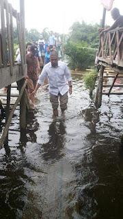 Lagi, AW Noviadi Beri Bantuan Korban Banjir