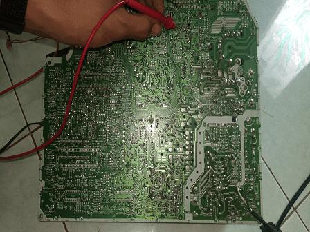 Polytron IC STV 2247 IC Vertikal TDA 8174 AW Mati Protek