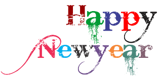 Happy New Year 2018 Clipart