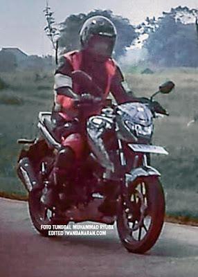 Spyshot terbaru Suzuki Bandit 150, Kurang Garang?