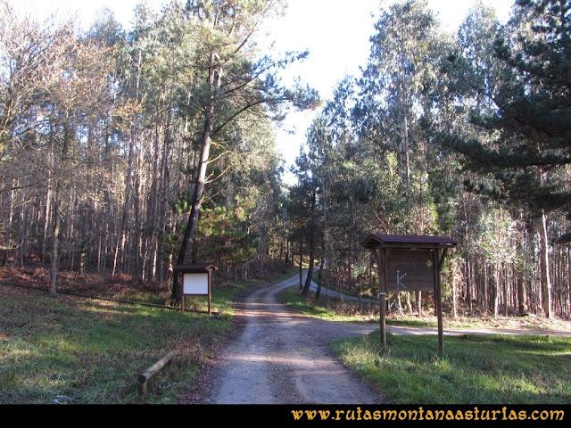 Ruta Sierra Bufarán, picos Degollada o Grande y Cotera: Área recreativa