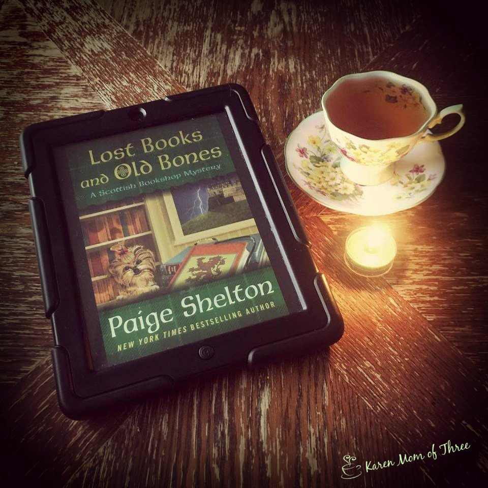 lost books and old bones a scottish bookshop mystery