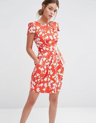 vestidos cortos con manga