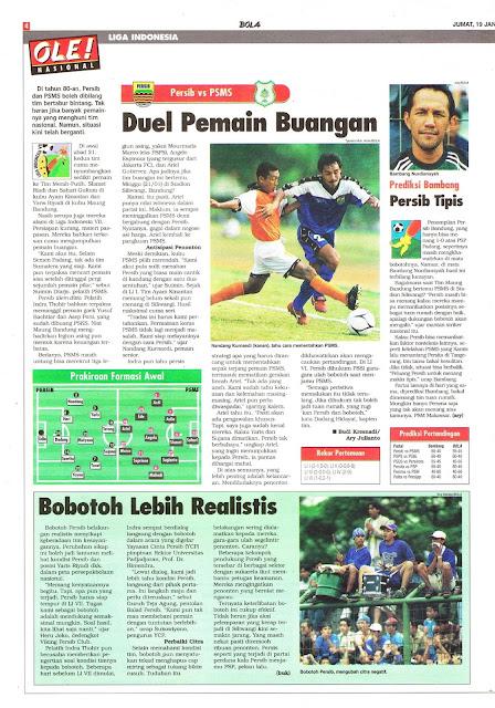 LIGA INDONESIA 2001 PERSIB VS PSMS