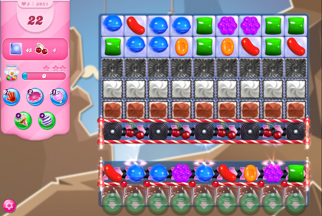 Candy Crush Saga level 3951