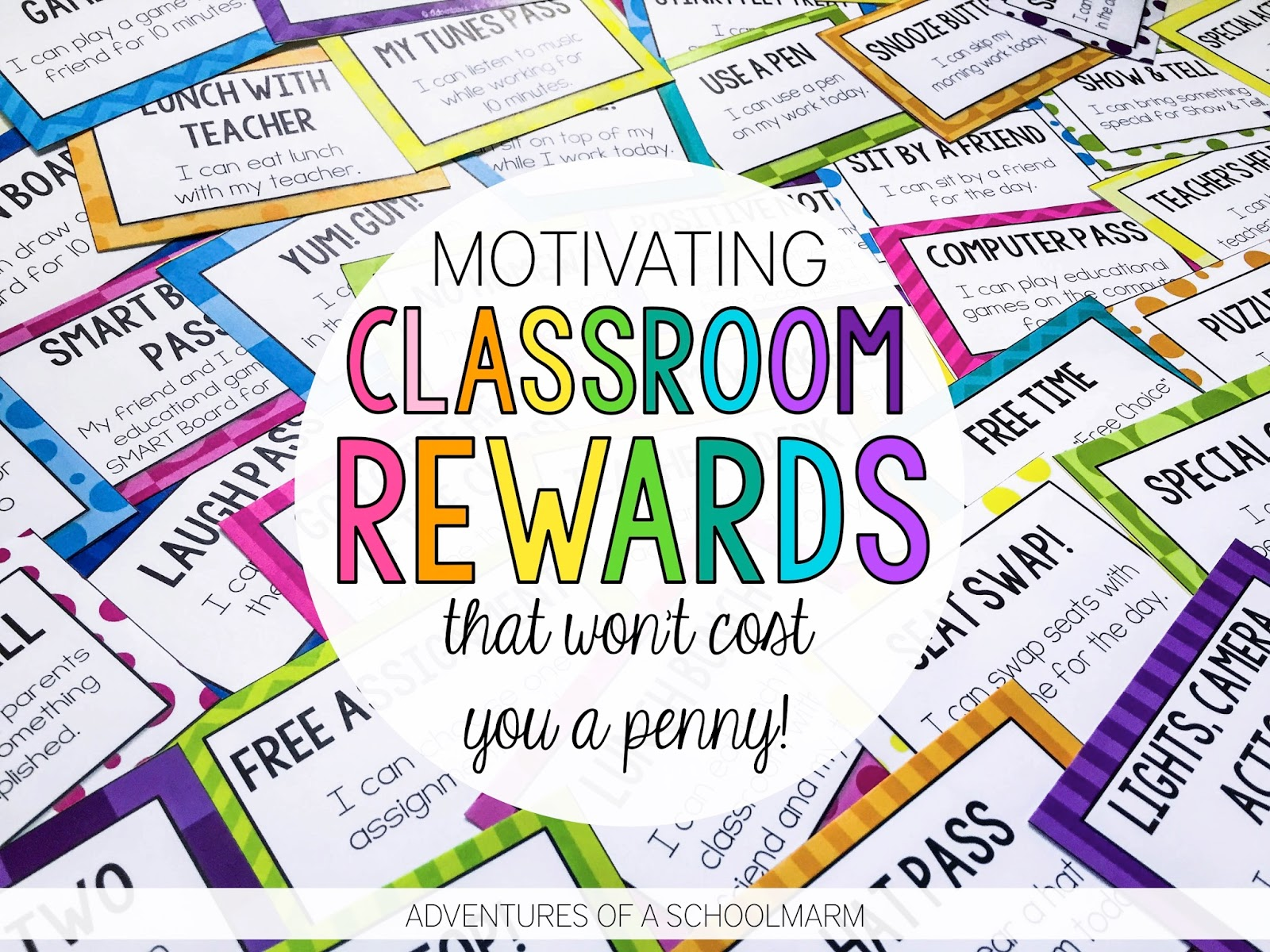 Classroom Rewards that Won't Cost You a Penny! - Adventures of a ...
