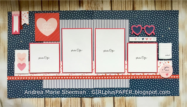 CTMH Heart Happy Layout