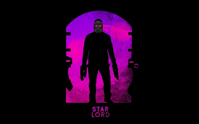 Papel de parede grátis Star Lord para PC, Notebook, iPhone, Android e Tablet.