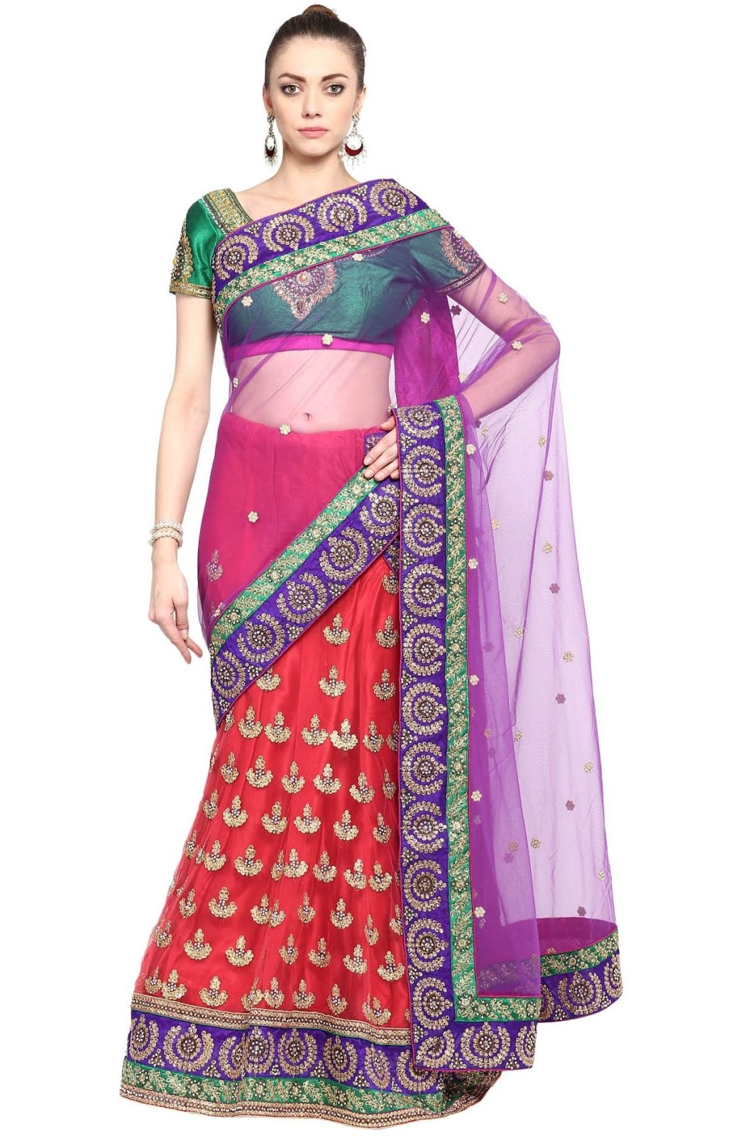 Dash On In – Traditional As Well As Modern Patterns Of Lehenga Choli