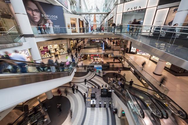 Khu trung tâm thương mại sang trọng