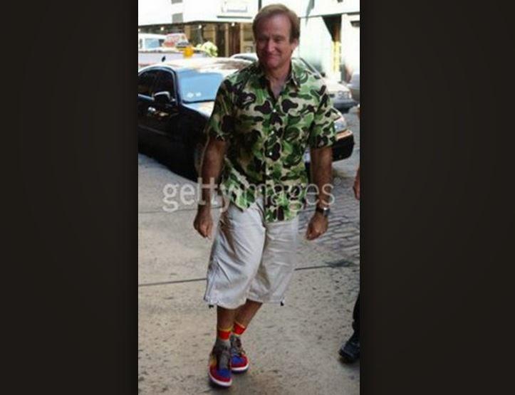 4d0e7546899665 Celeb Sneaker Game  Robin Williams Wearing Nike Dunk Low Viotech ...