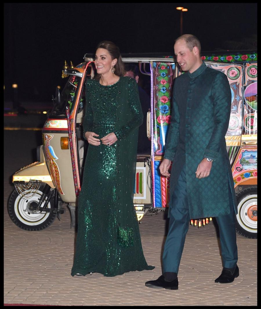 Kate Middleton at Special Reception in Islamabad