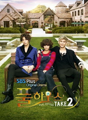 Korean Drama Series, Full House Take 2, Hwang Jung-eum, No Min Woo, Park Ki Woong