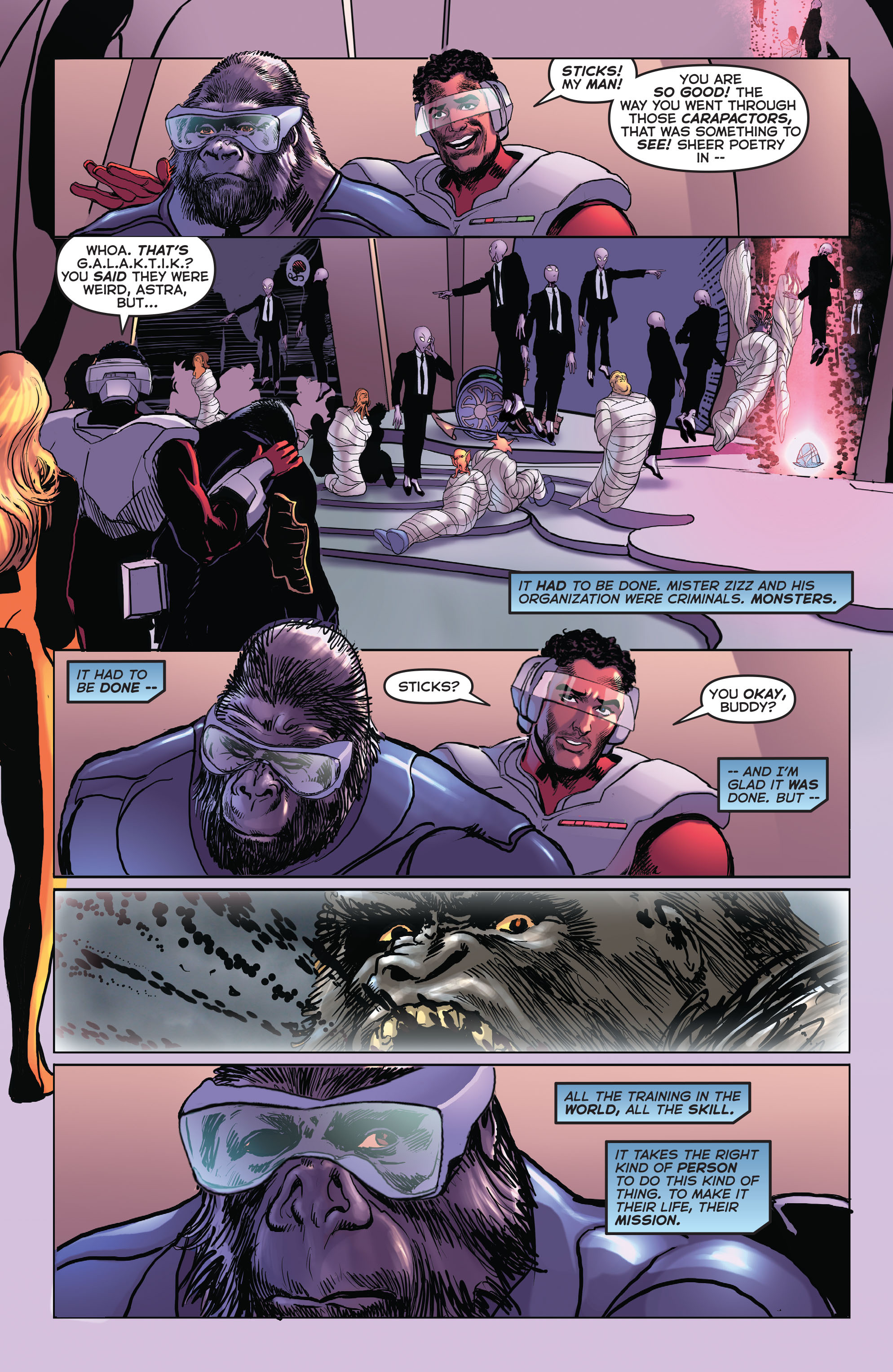 Read online Astro City comic -  Issue #24 - 9