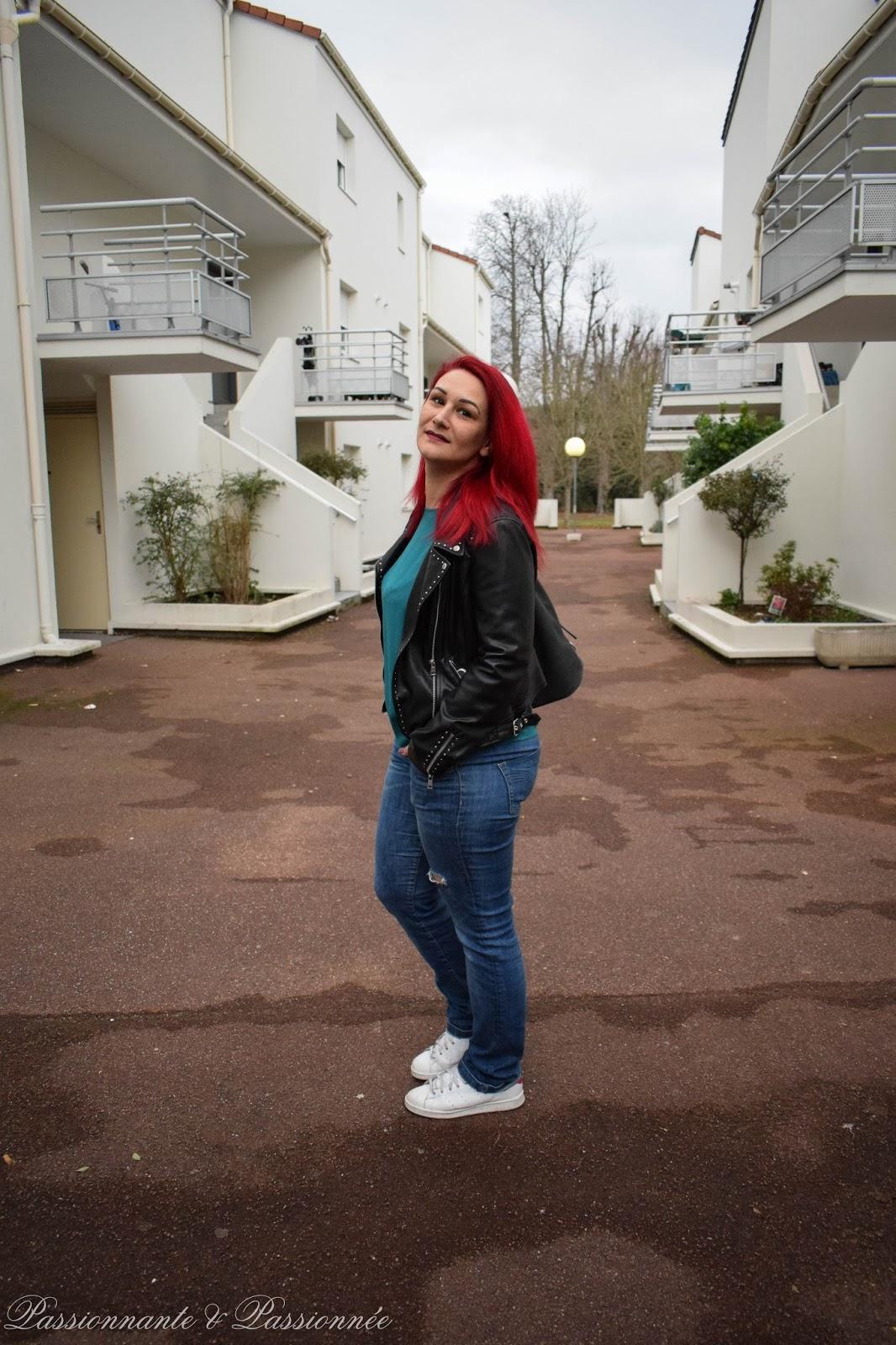 avoir les cheveux rouges