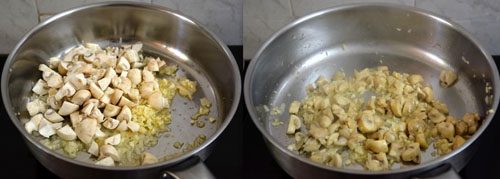how to make mushroom pasta