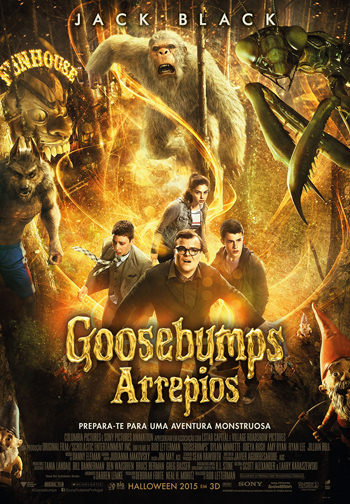 Goosebumps 2015 Dual Audio