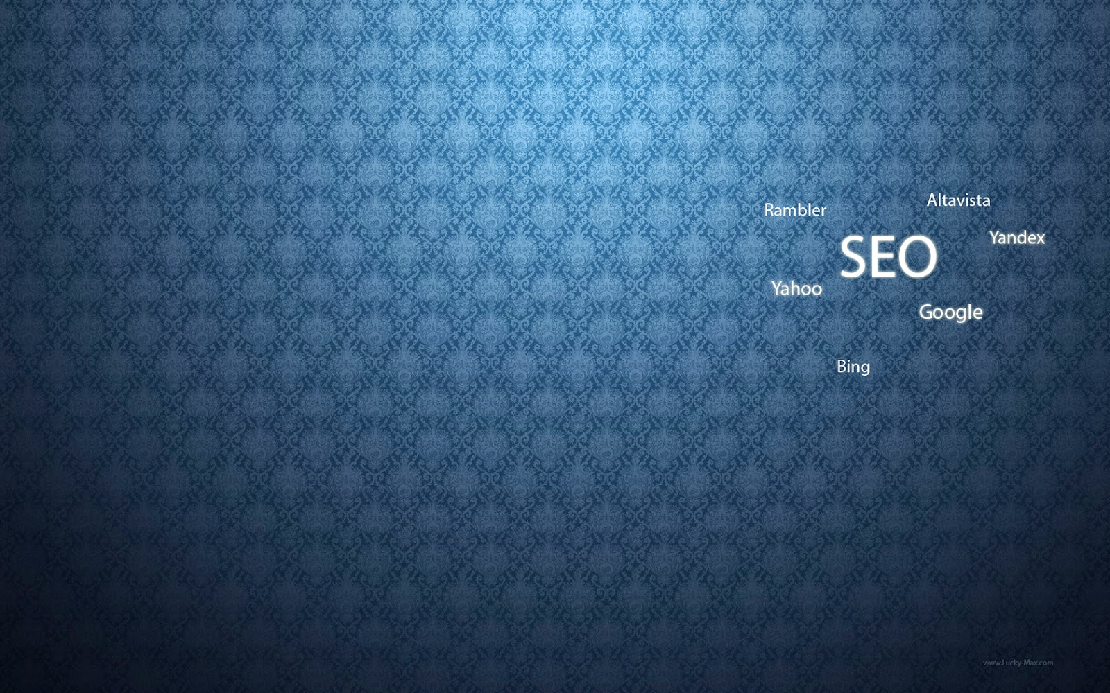 Blue SEO Wallpaper