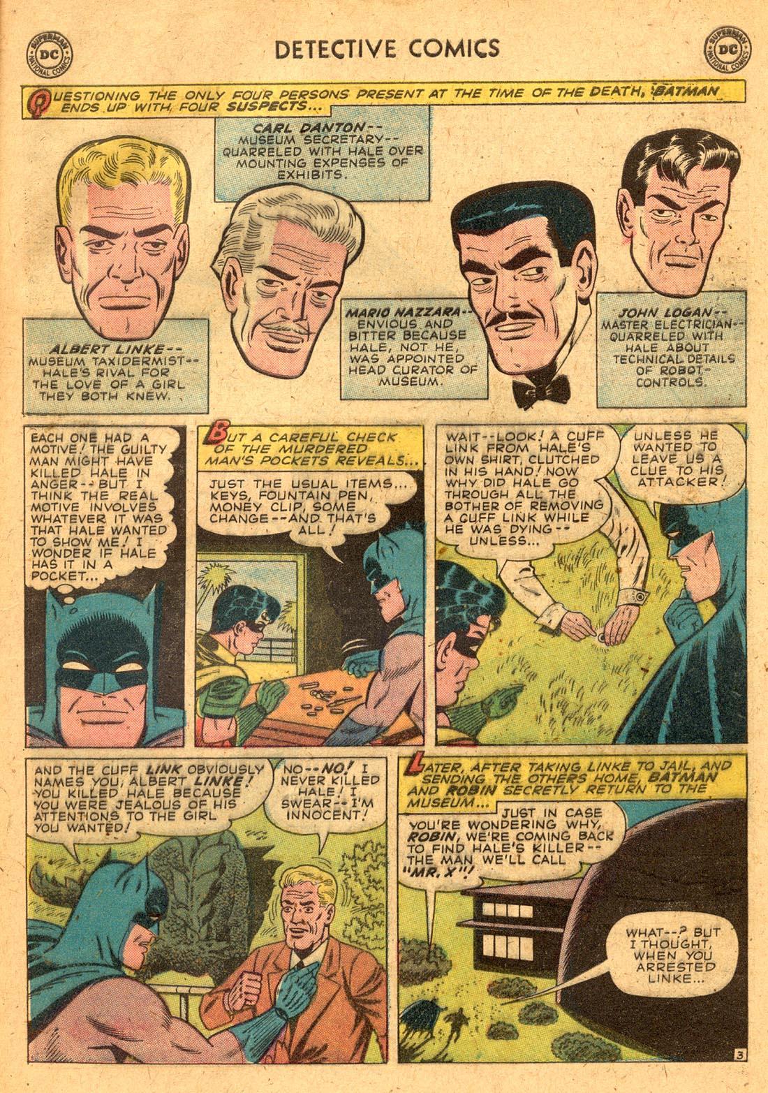 Read online Detective Comics (1937) comic -  Issue #255 - 5