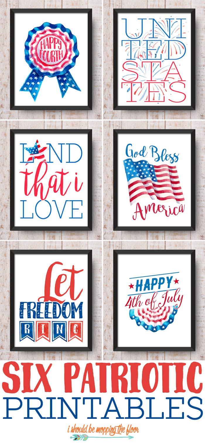 4th of July Prints