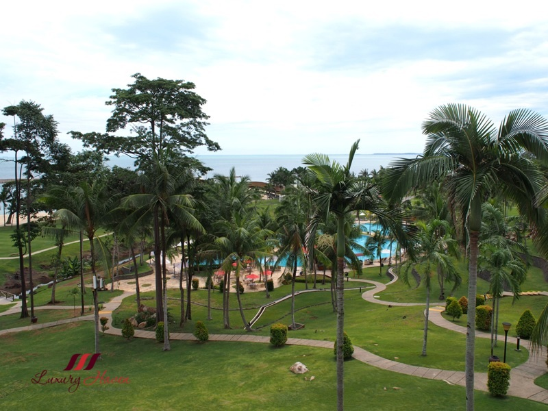 bintan lagoon resort deluxe sea facing room review
