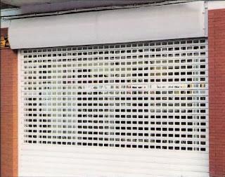 Instalación de persianas metálicas