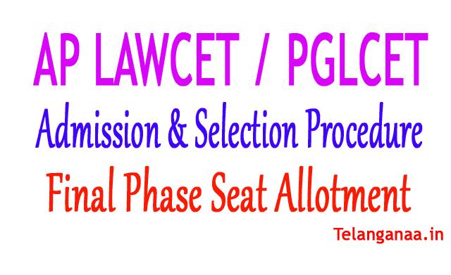 AP LAWCET Final Phase Seat Allotment