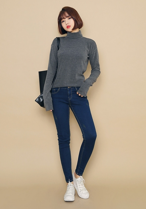 Stretchable Skinny Fit Jeans