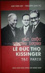 Các cuộc thương lượng Lê Đức Thọ - Kissinger tại Paris - Lưu Văn Lợi, Nguyễn Anh Vũ