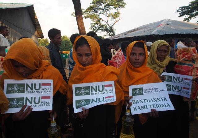 Lagi, NU Kembali Salurkan 1000 Paket Bantuan untuk Rohingya
