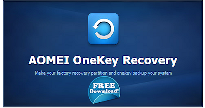 Aomei OneKey Recovery - Δωρεάν